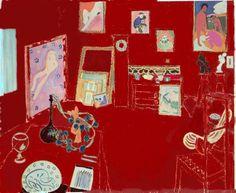 Henri Matisse L'atelier rouge