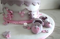 Cotton Candy Cake Design - Cotton Candy Cake Design