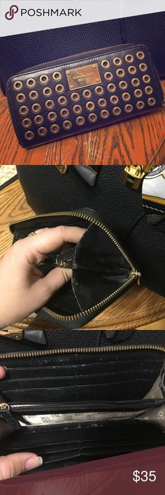 Michael Kors Wallet Great condition. Just some scratches inside but not noticiable Michael Kors Bags Wallets