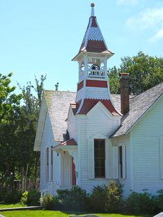 Oysterville Church.  Oysterville, Washington.