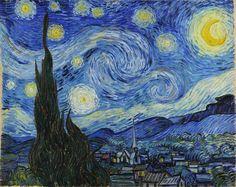 Звездная ночь | Искусство Ван Гога