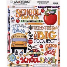 Mary Engelbreit School Days Stickers | Shop Hobby Lobby