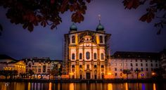 Church in Lucerne  City and architecture photo by RAF_PHOTOGRAPHY http://rarme.com/?F9gZi