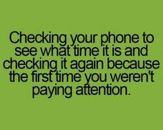 I do this....