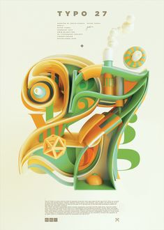 Typography 09. by Peter Tarka, via Behance
