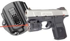 Viridian C5LRPACKC12 C5LR w/Tacloc Holster for Ruger SR9C Red Laser & Light 100 Lumens