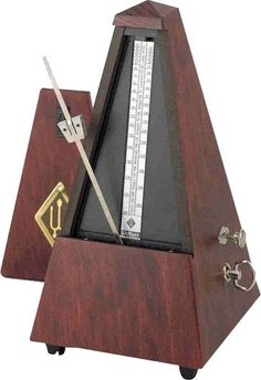 Wittner Mechanical Metronome in a Mahogany Wood Case, I really need to get one of this $132.99