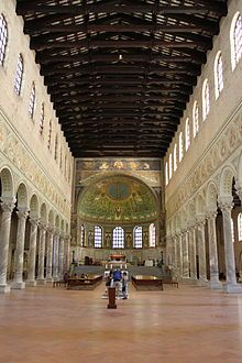 Basilica of Sant'Apollinare in Classe - Wikipedia