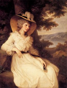 Lady Elizabeth Foster, 1786, by Angelica Kauffmann.