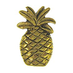 Pineapple Gold Lapel Pin - C312DA9BLKB - Brooches & Pins  #jewellrix #Brooches #Pins #jewelry #fashionstyle