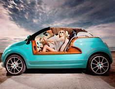 One-off Fiat 500 Tender 2 beach buggy