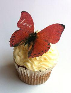 Edible Butterfly.
