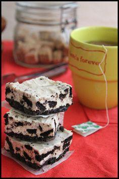 簡単!型不要!混ぜて冷やすだけ♪オレオチーズケーキとラッピング レシピブログ