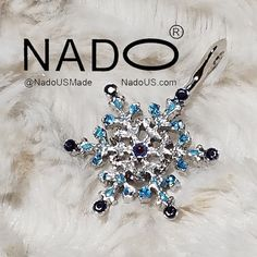 One of a kind Ice Crystal Pendant From NadoUS.com by JaxAdele