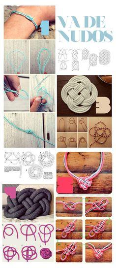 DIY Jewelry DIY Nautical Rope : DIY: VA DE NUDOS