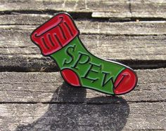 Harry Potter Pin, Society for the Promotion of Elfish Welfare Pin SPEW Pin - Green