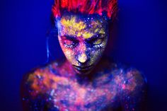 color, powder, photography, art,