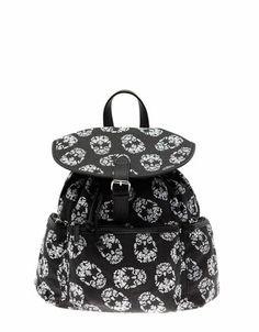 Bershka Turkey - Skull print backpack