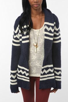 dolce vita cardigan..love this, my husband would probably call it my grandma sweater lol