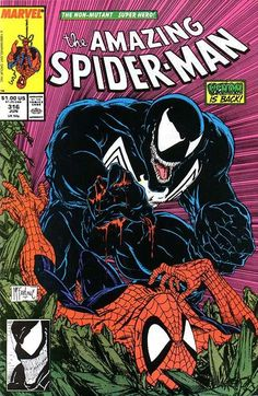 The Amazing Spider-Man #316 - Comic Book Cover
