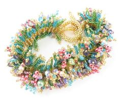 Beads East Spring Beaded Bracelet Kit by Ann Benson