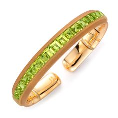 A Peridot and Gold Bangle, by Hemmerle - FD Gallery (=)
