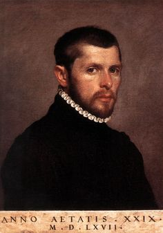 Giovanni Battista Moroni. Portrait of a Young Man