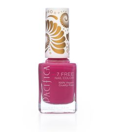 Pacifica, 7 Free Nail Color, Rebel's Rose