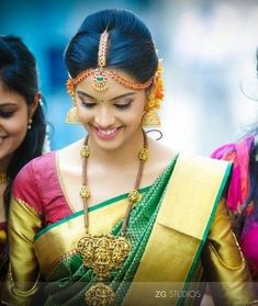 South Indian Bride with gorgeous Bridal MakeOver...!!!!  #Ezwed #SouthIndianBride  #SouthIndianWedding #SouthIndianWeddingWebsite #IndianBride