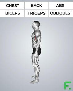 All Body Workout, Gym Workout Chart, Workout Routine For Men, Gym Workout Videos, Gym Workout For Beginners, Gym Workouts, At Home Workouts, Gymnastics Workout, Weight Training Workouts