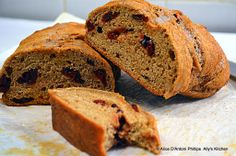 Brown Sugar Cranberry Whole Wheat Peasant Bread