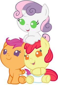 My little pony babies