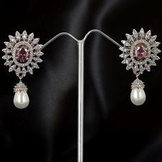 Sterling silver jewellery with american diamonds. https://www.facebook.com/sakinish.inc  Log on to www.sakinish.com