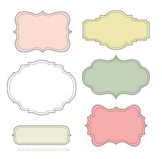 Теги, розовые, белые, зеленые Tags, white, pink, green