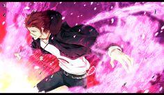 anime k project | Konachan.com-147034-k_anime-red_hair-suou_mikoto_k-yellow_eyes-yun_neo ...
