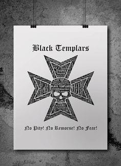 Black Templars Warhammer 40K by ZsaMoDesign