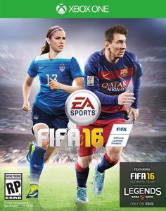 It's about time! EA Sports has finally put a female athlete on the cover of its best selling 'FIFA' video game series. US soccer star Alex Morgan will be featured in the artwork for 'FIFA when the game goes on sale in late September! Fifa 17, Fifa 16 Game, Ea Fifa, Fifa Games, Lionel Messi, Messi Gif, Alex Morgan, Xbox 360 Video Games, Latest Video Games