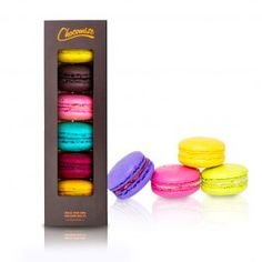 Chocomize | Create a custom box of delicious macaroons :) Definitely keeping this in mind for gifts!! I love macaroons<3