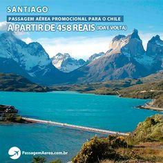 Voos promocionais para o Chile com saídas de São Paulo.  Saiba mais: https://www.passagemaerea.com.br/promocao-capital-chile.html