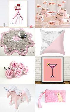 Pink life by Mindundia on Etsy--Pinned with TreasuryPin.com