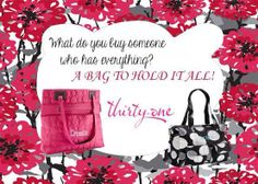 You can never have too much Thirty-One!