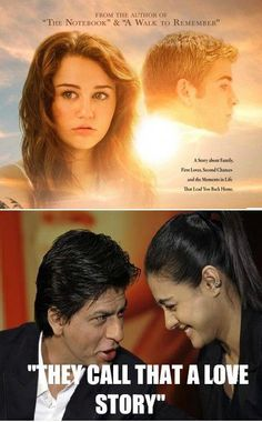 No American romance movie can even compare to Indian movies. Bollywood Funny, Bollywood Couples, Bollywood Actors, Shahrukh Khan And Kajol, Shah Rukh Khan Movies, Desi Humor, Desi Jokes, Indian Funny, Indian Jokes