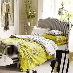 Designer's  Guild Watelet Duvet Covers, Yellow