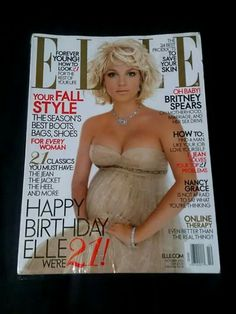 Elle Cool Boots, Britney Spears, Magazine Covers, Strapless Dress, Classic, Women, Style, Fashion, Brithney Spears