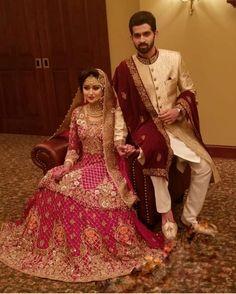 Hussain Asif, Couple Shoot, Wedding Pics, Pakistani, Sari, Celebs, Mens Fashion, Bride, Suits