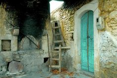 Old House With Woodoven,Manolis Tsantakis.Greece
