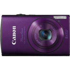 Canon - PowerShot ELPH 310 HS Purple 12.1-Megapixel Digital Camera - Purple    Model: 5701B001 SKU: 3104167    $259.99
