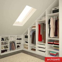 Small Attic Bedroom Sloping Ceilings Slanted Ceiling Bedroom Ideas Slanted Attic Closet Ideas Large Size Of Bedroom Sloped Ceiling Bedroom Ideas Small Attic Bedroom Low Sloping Ceilings Attic Master Bedroom, Attic Bedroom Designs, Attic Bedrooms, Master Closet, Closet Bedroom, Bedroom Decor, Bedroom Ideas, Small Room Bedroom, Bed Room