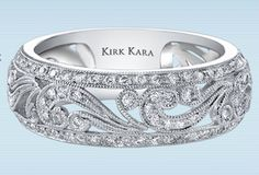 Kirk Kara Angelique Collection  Style: Angelique Collection SS6967-B says from the knot