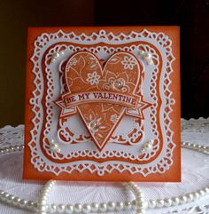 Stampin up  Handmade card Be My Valentine NEW by llenusik on Etsy, $8.49